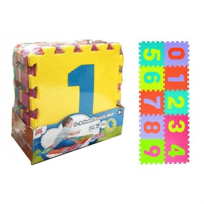 Foam Puzzle Numbers