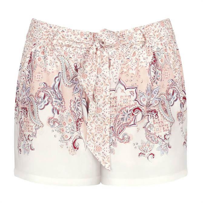 Triumph Lounge Me Floral Motif Pyjama Shorts