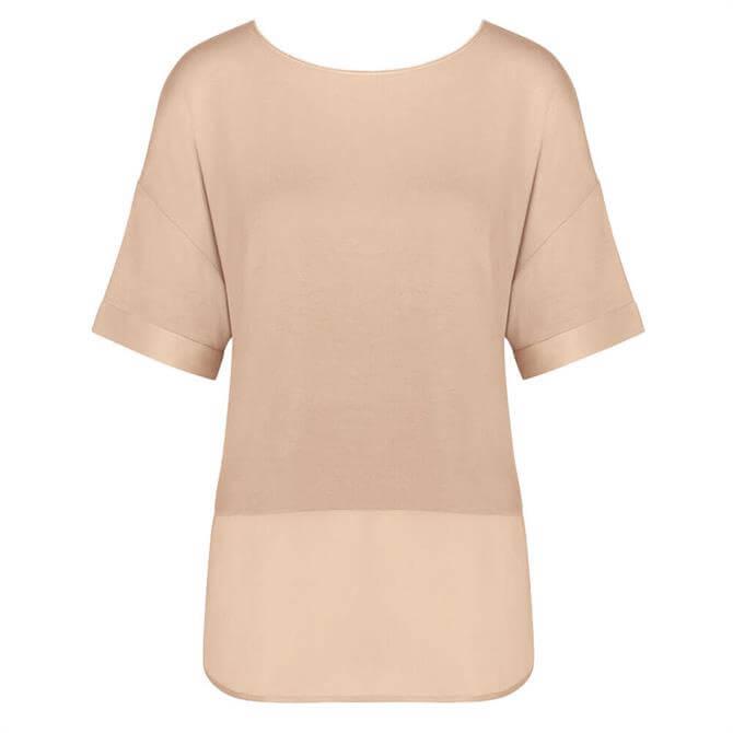 Triumph Lounge Me Modern Flair Light Brown Pyjama Top