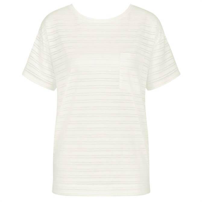 Triumph Lounge-Me Cotton Short Sleeve Pyjama Top