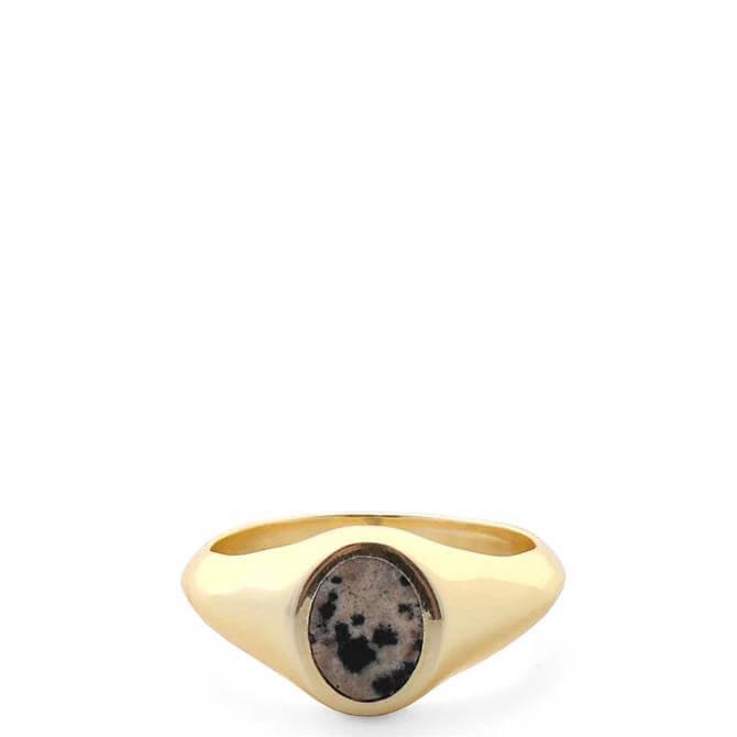 Tutti & Co Jasper Stone Ring