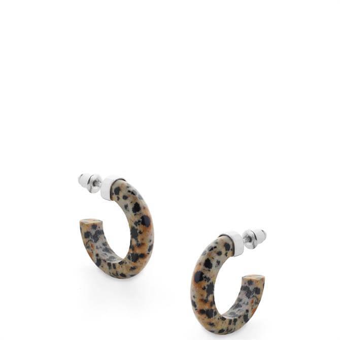 Tutti & Co Energy Small Jasper Stone Earrings