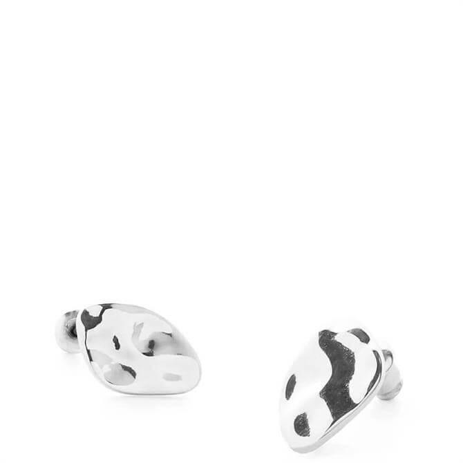Tutti & Co Silver Plated Land Earrings
