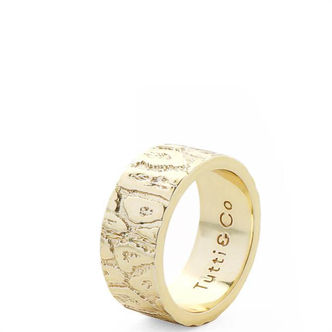 Tutti & Co Leopard Ring