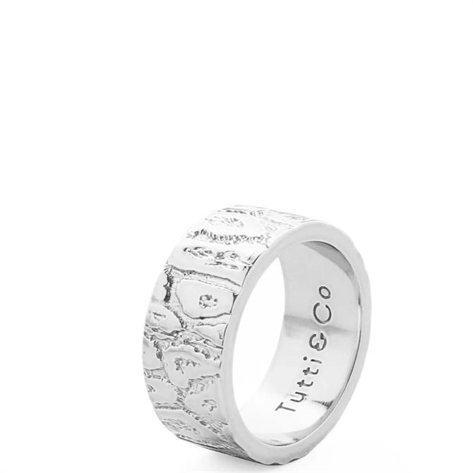 Tutti & Co Leopard Ring