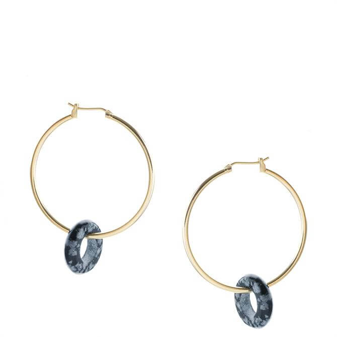 Tutti & Co Obsidian Earrings