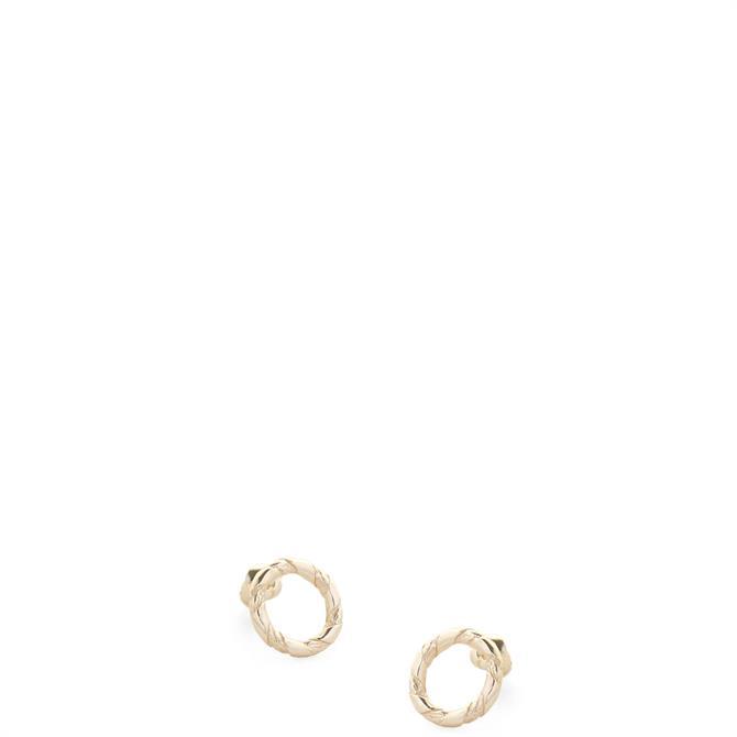 Tutti & Co Rope Stud Earrings
