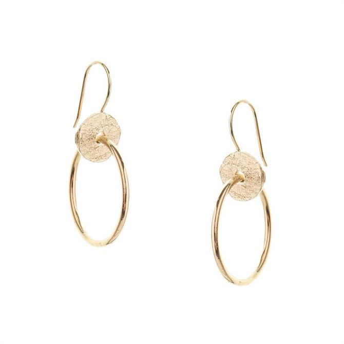 Tutti & Co Tideline Hoop Earrings