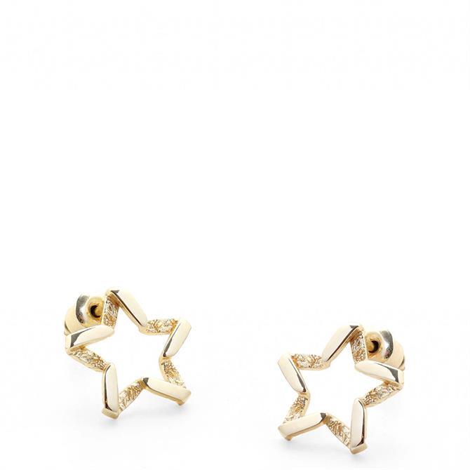 Tutti & Co North Star Stud Earrings