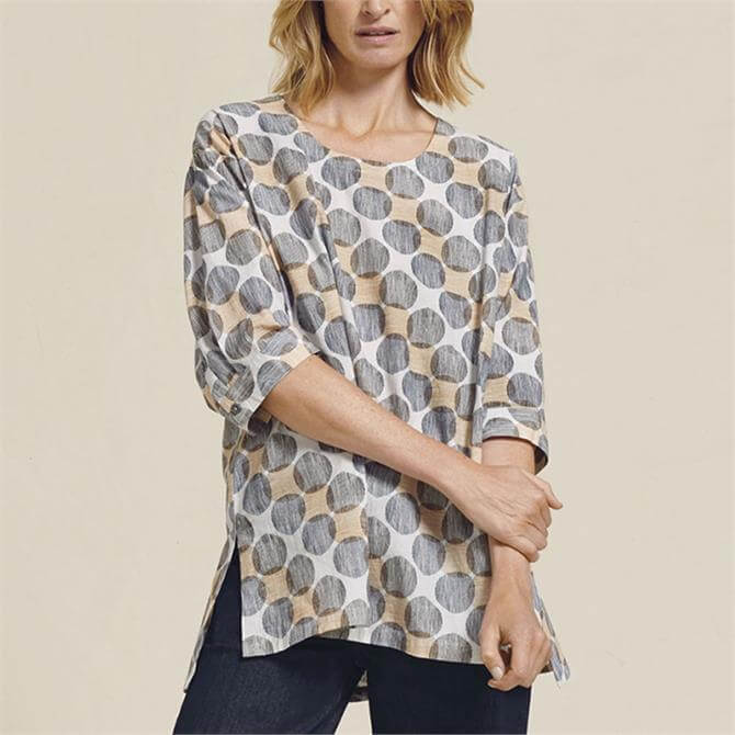 Two Danes Tille Patterned Tunic Top