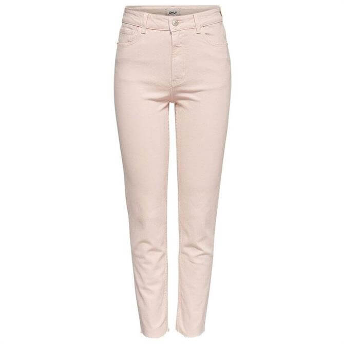 Only Emily Pink High Waisted Jeans