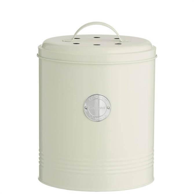 Typhoon Living Cream Compost Bin