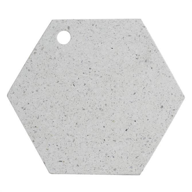 Typhoon Elements Terrazzo Hexagonal Chopping/Serving Board