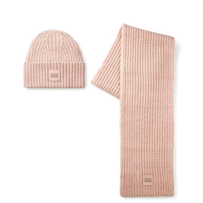 UGG Chunky Rib Knit Set
