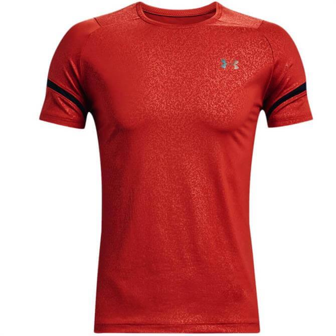 Under Armour Men's RUSH™ HeatGear® 2.0 Emboss Short Sleeve