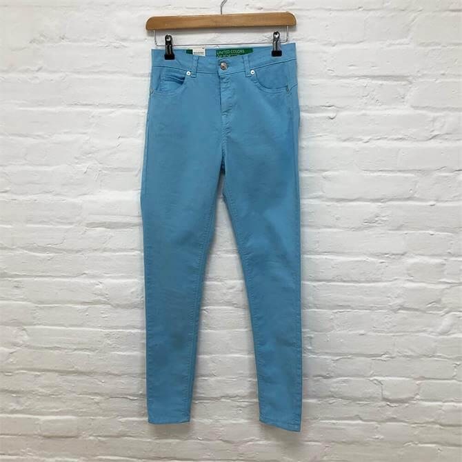 Benetton Blue Denim Trousers
