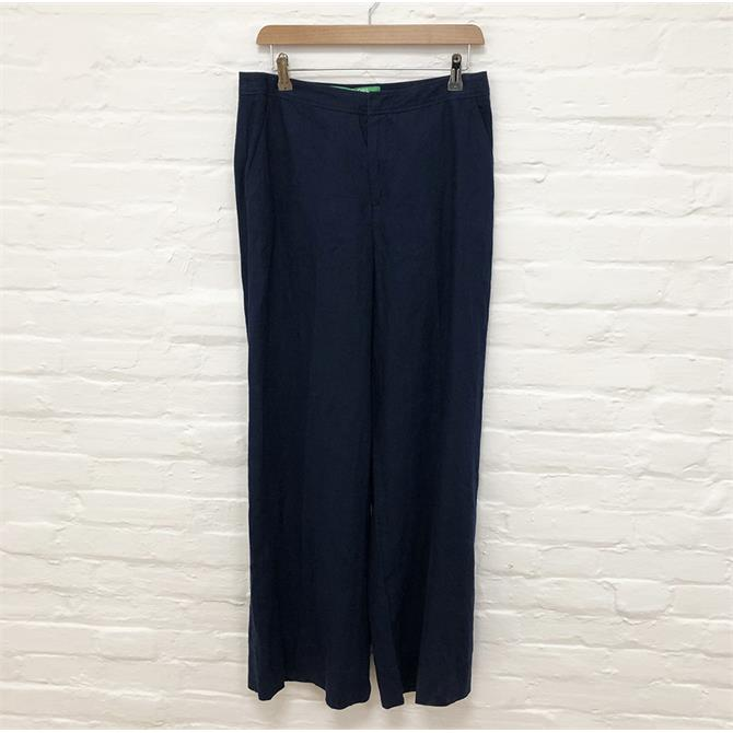 Benetton Navy Trousers