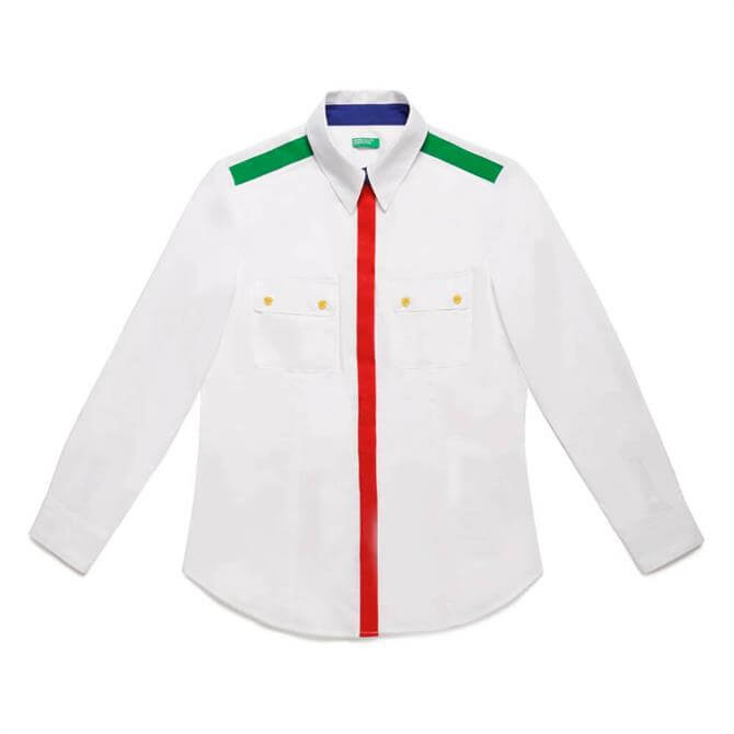 United Colors of Benetton Colour Detail Shirt