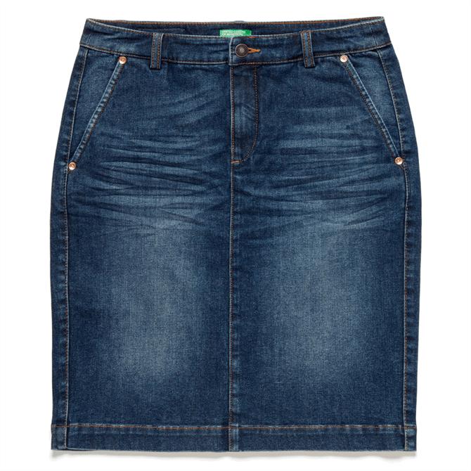 United Colors of Benetton Denim Pencil Skirt