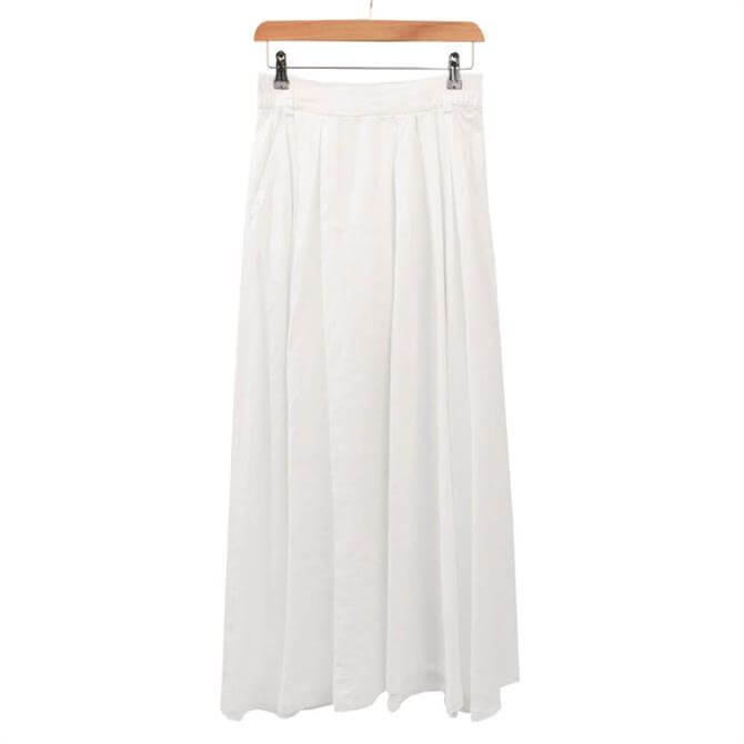United Colors of Benetton Linen Maxi Skirt