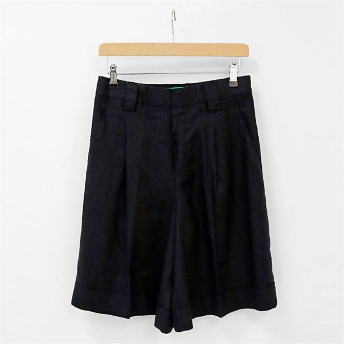 United Colors of Benetton Linen Bermuda Shorts