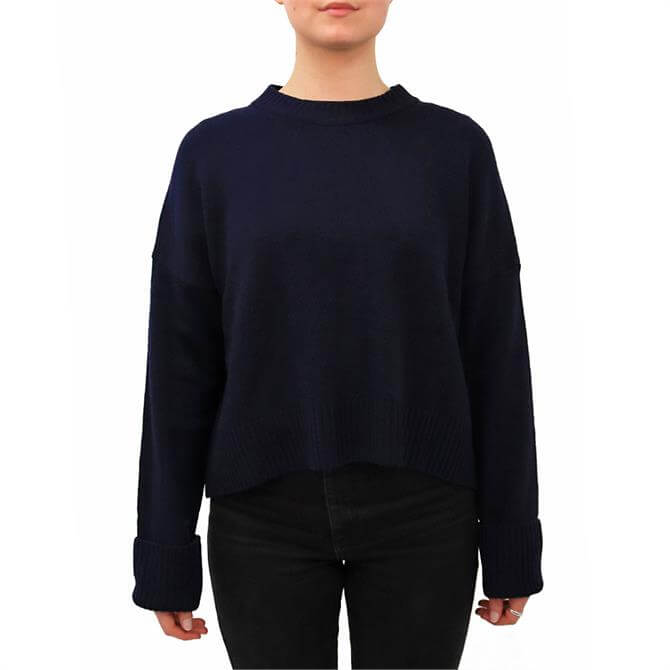 United Colors of Benetton Ribbed Detail Wool Sweater