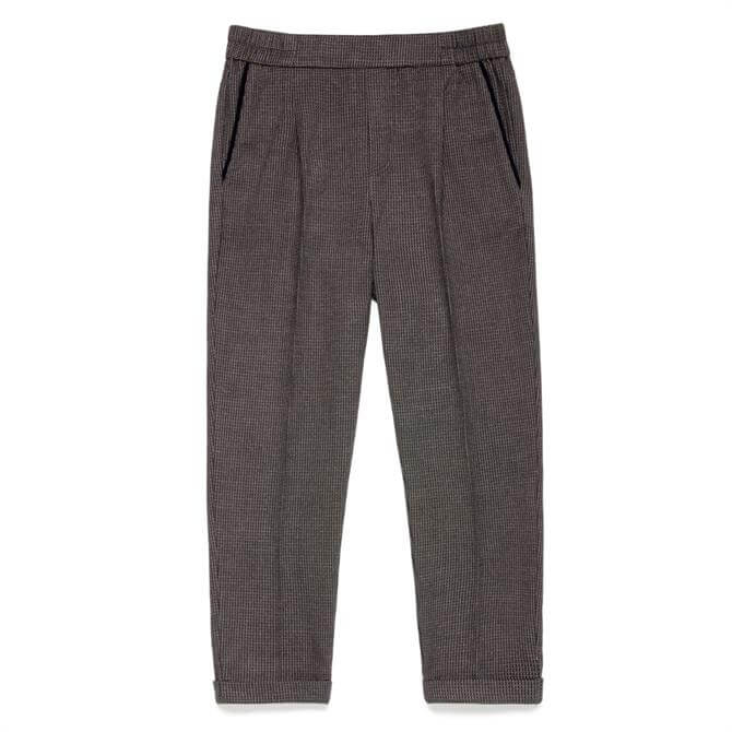 United Colors of Benetton Stretch Flannel Cropped Trouser