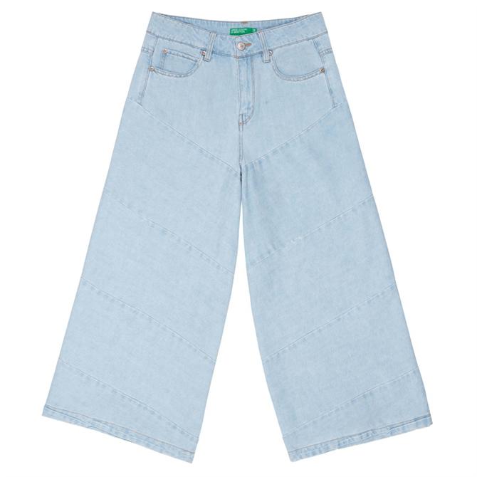 United Colors of Benetton Linen Blend Jeans