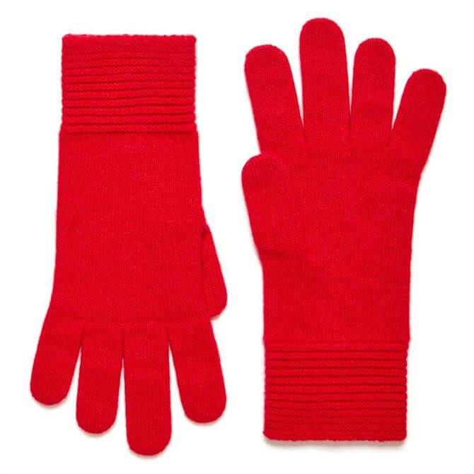 United Colors of Benetton Wool Blend Stockinette Gloves