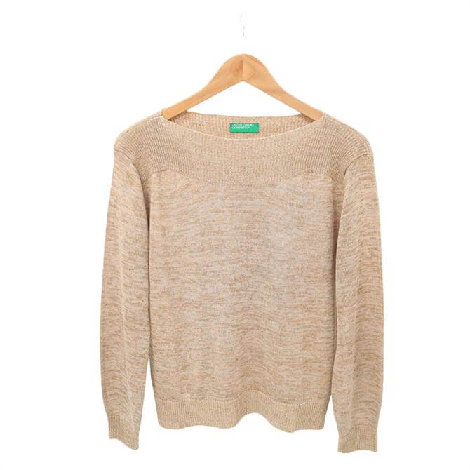 United Colors of Benetton Multi Thread Boatneck Sweater