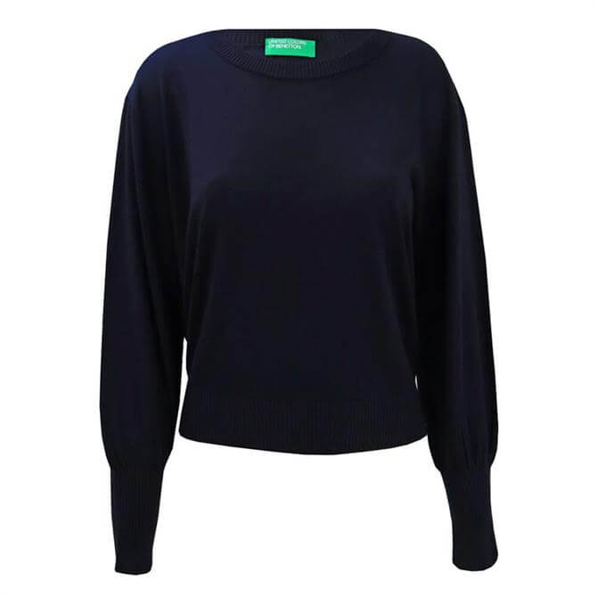 United Colors of Benetton Puff Sleeve Sweater