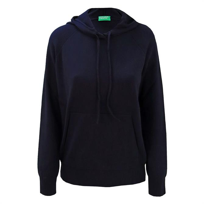 United Colors of Benetton Hooded Cotton Sweater