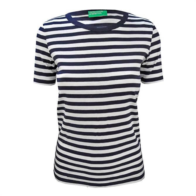 United Colors of Benetton Short Sleeve Striped T-Shirt