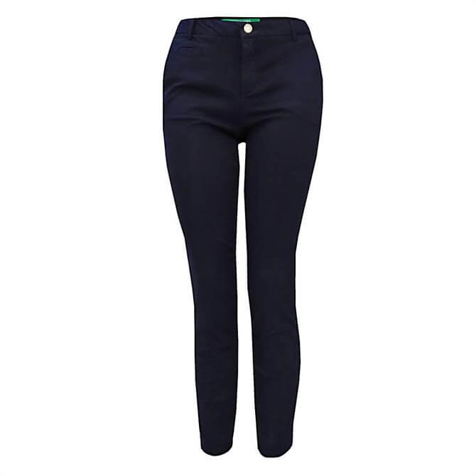 United Colors of Benetton Slim Fit Stretch Chinos