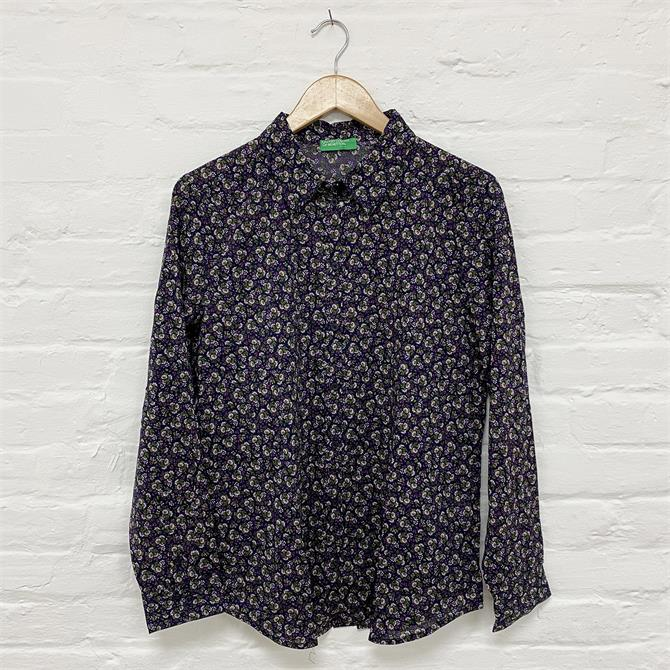 United Colors Of Benetton Floral Shirt