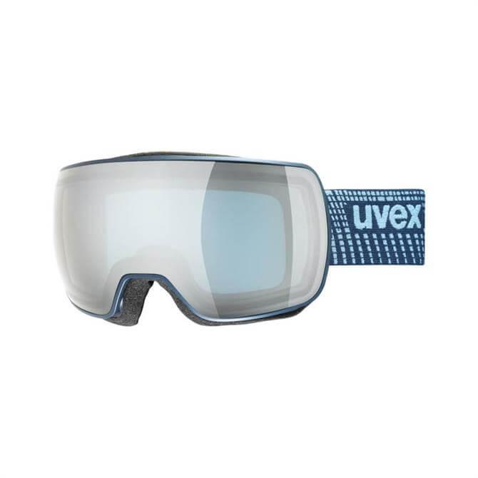 Uvex Compact FM Ski Goggle - Navy