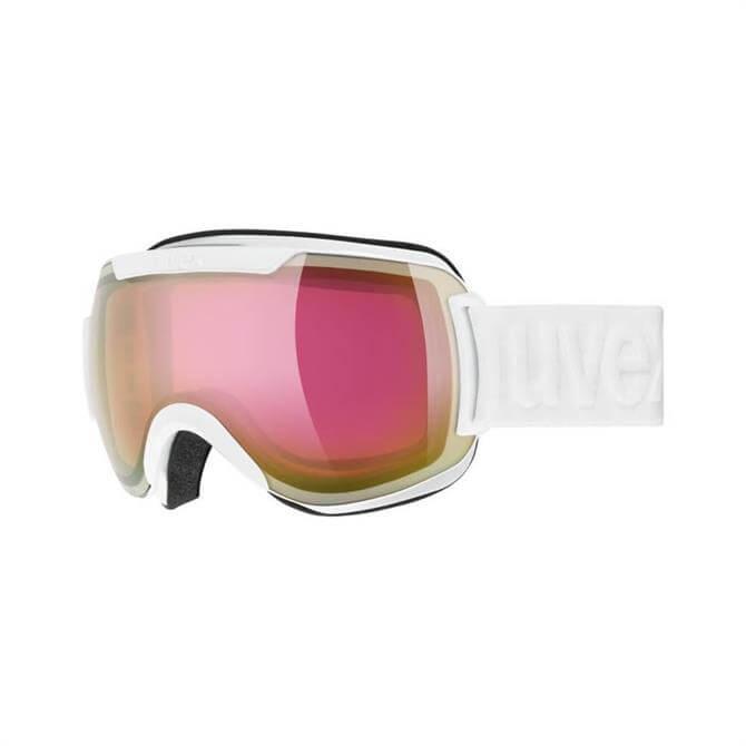 Uvex Downhill 2000 Ski Goggle - White/Pink