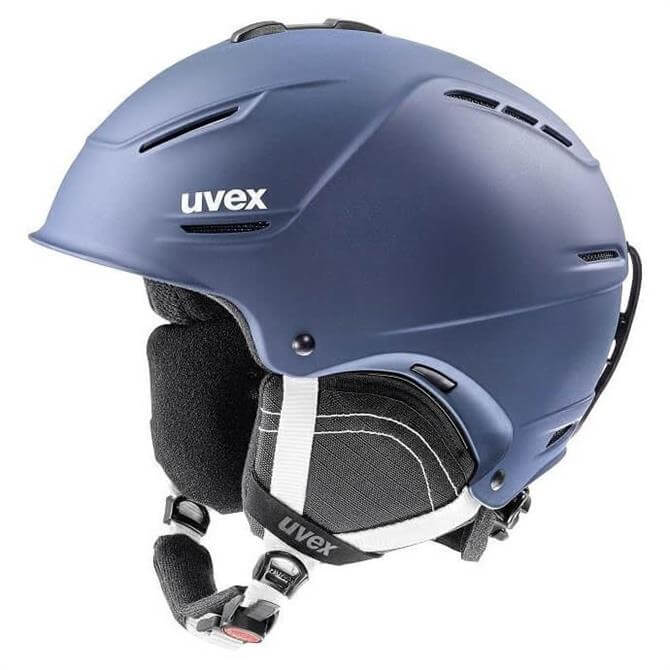 Uvex P1us 2.0 Navy Ski Helmet - Medium