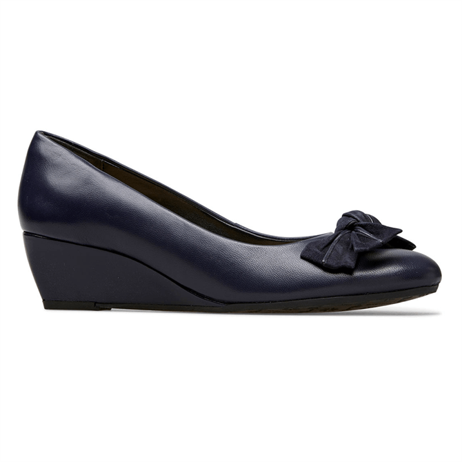 Van Dal Bourne Midnight Wedge Shoes