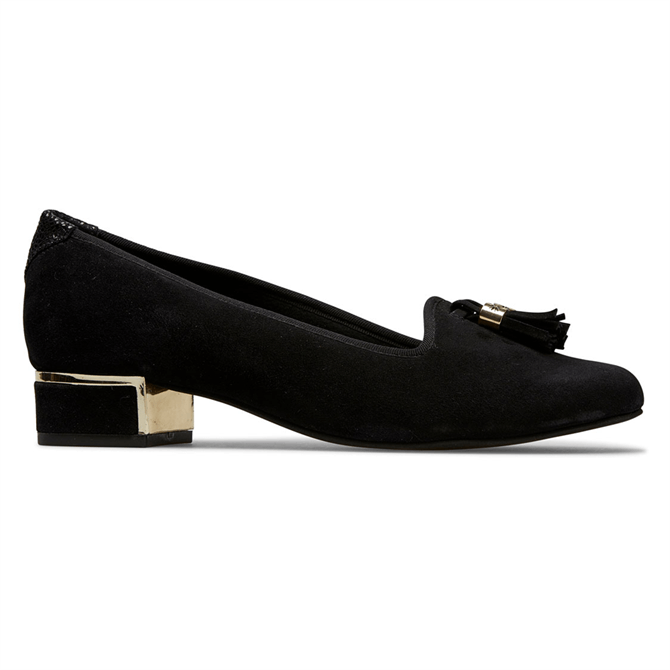Van Dal Thurlow Black Suede Shoes