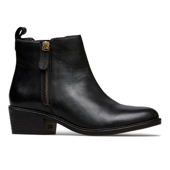 Van Dal Barlow Black Leather Ankle Boots