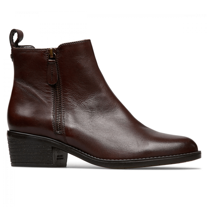 Van Dal Barlow Conker Leather Ankle Boots