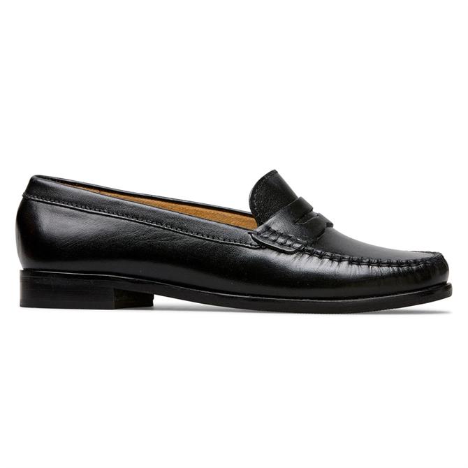 Van Dal Hampden Black Leather Loafers