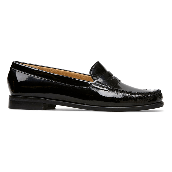 Van Dal Hampden Black Patent Loafers