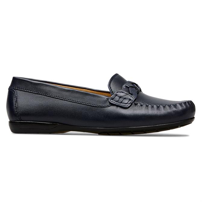 Van Dal Minni Midnight Leather Loafers