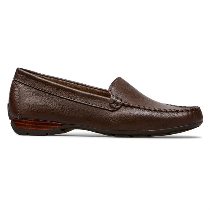 Van Dal Sanson Conker Leather Loafers