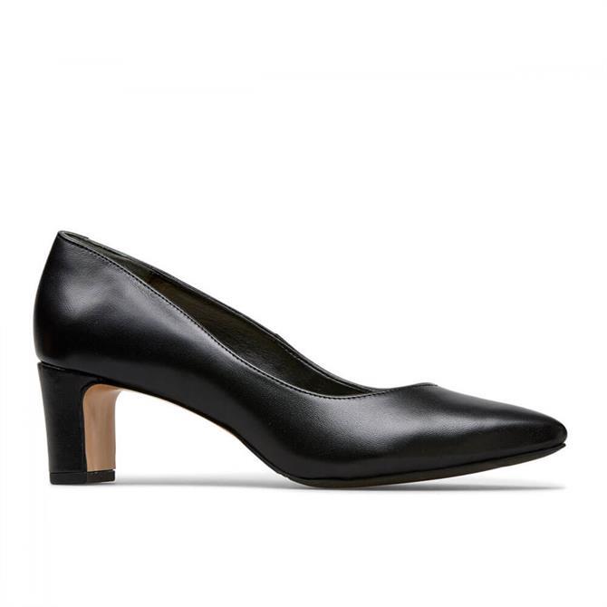 Van Dal Simone Black Court Shoes