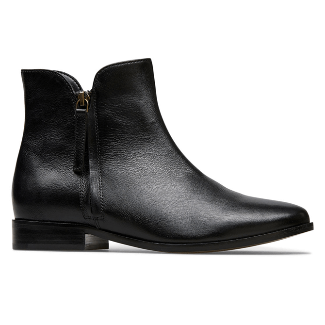 Van Dal Betsy Black Leather Ankle Boots