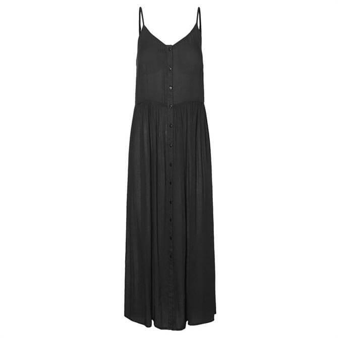Vero Moda Morning Black Midi Strap Dress
