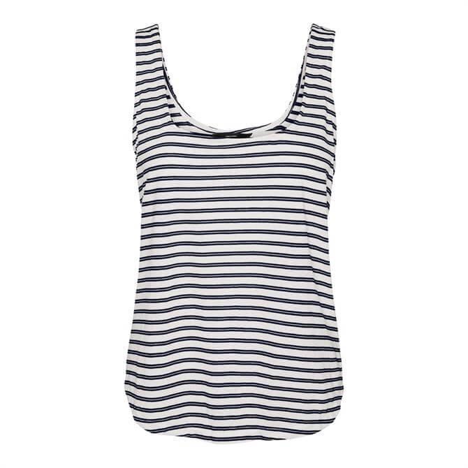 Vero Moda Alona Striped Sleeveless Top